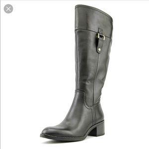 Real leather Franco Sarto Lizbeth Wide calf boot